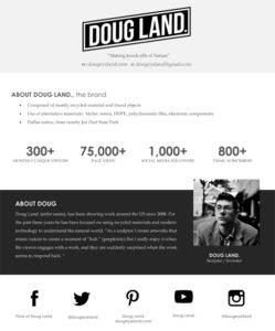 Microsoft Word - Black & White Media Kit_Doug Land _2016